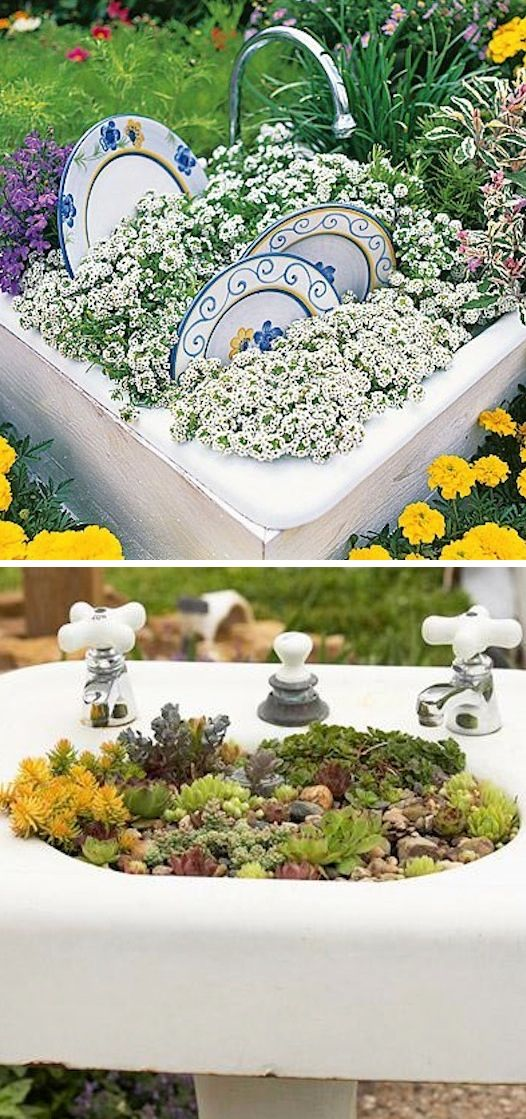 24-Insanely-Creative-DIY-Garden-Container-Projects-That-Will-Beautify-r-Backyard-Landscaping-homesthetics-decor-8