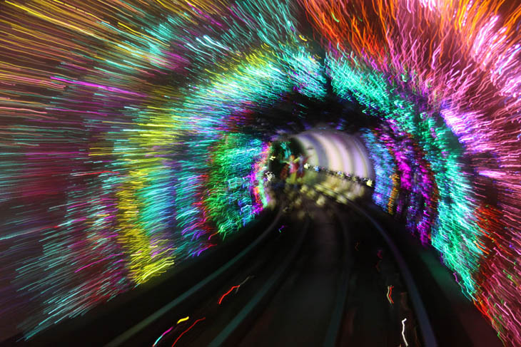Bund Sightseeing Tunnel, Shanghai, China2