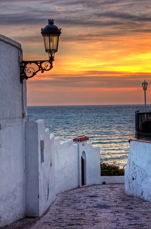 Sunset-in-Nerja-Malaga-Andalucia-Spain