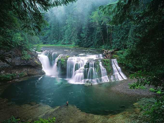Lower Lewis River Falls – Gifford Pinchot National Forest – Washington, USA