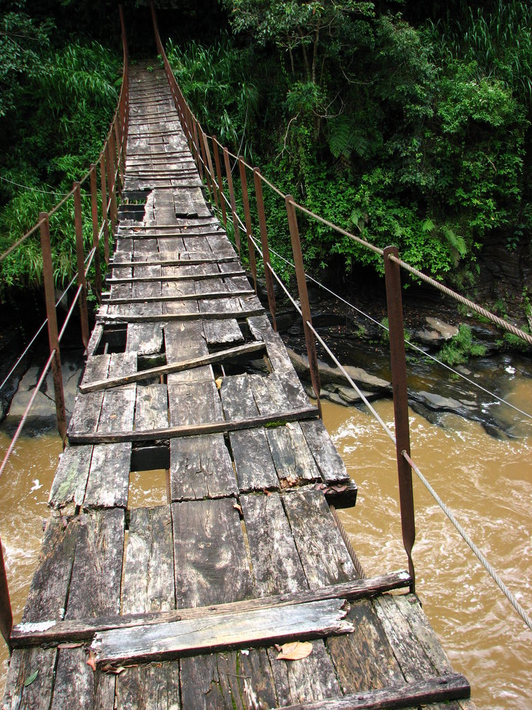 Kotmale Footbridge, Sri Lanka