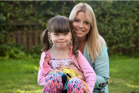 Embargo until 15:01 GMT/BST 6 December 2015. Kerry McFadyen, 32, is pictured with her daughter Danni, 6, at their home in Boat of Garten in the Scottish Highlands See South West copy SWTRANNY: A proud mum is embracing her sonÃs change after she realised he was born in the wrong body à aged THREE. Kerry McFadyen knew in her heart of hearts that her son Daniel should have been her daughter when she caught him with a pair of scissors à trying to cut his WILLY off. The 32-year-old mum-of-five reckons that her six-year-old child Daniel, now known as Danni, must be the wrong gender, partly because he was always more interested in his sistersà dolls than his brothers' footballs.
