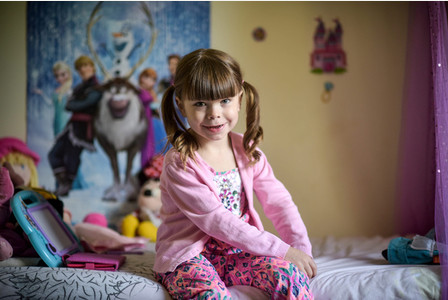 Embargo until 15:01 GMT/BST 6 December 2015. Danni McFadyen, 6, is pictured at her home in Boat of Garten in the Scottish Highlands  See South West copy SWTRANNY: A proud mum is embracing her sonÃs change after she realised he was born in the wrong body à aged THREE. Kerry McFadyen knew in her heart of hearts that her son Daniel should have been her daughter when she caught him with a pair of scissors à trying to cut his WILLY off. The 32-year-old mum-of-five reckons that her six-year-old child Daniel, now known as Danni, must be the wrong gender, partly because he was always more interested in his sistersà dolls than his brothers' footballs.