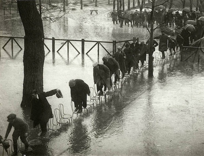 Flooding in Paris, 1924