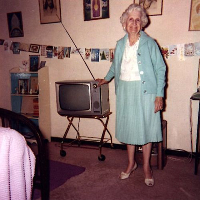 People Standing Next to Their Televisions (14)