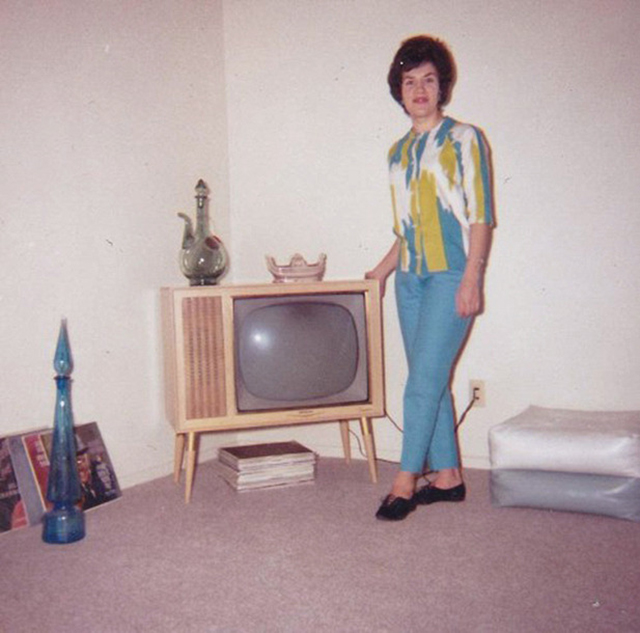 People Standing Next to Their Televisions (18)