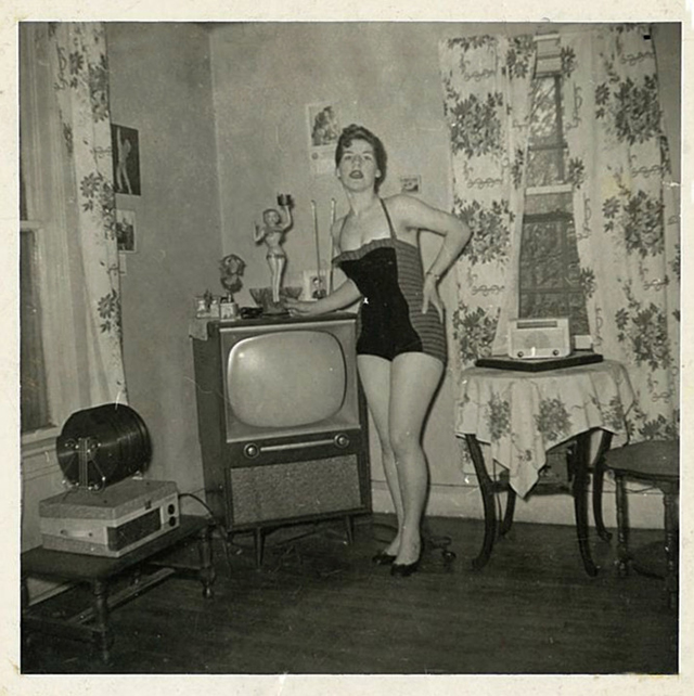 People Standing Next to Their Televisions (21)