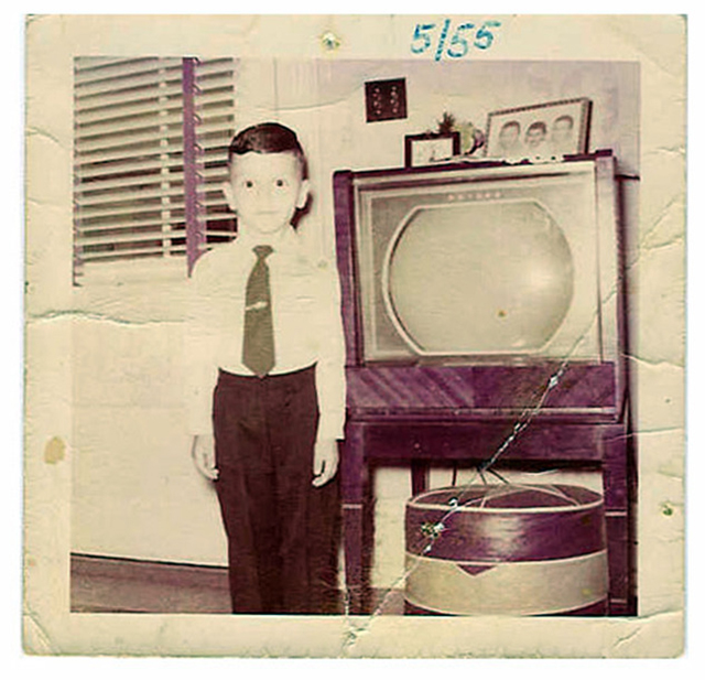 People Standing Next to Their Televisions (6)