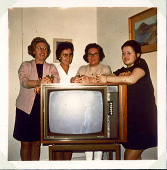 People Standing Next to Their Televisions (9)