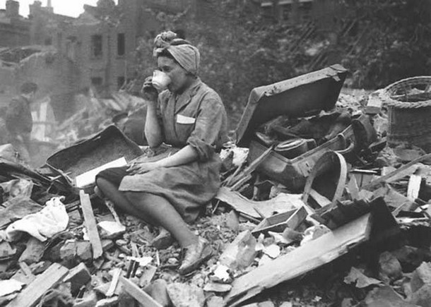 id during the London Blitz. [1940]