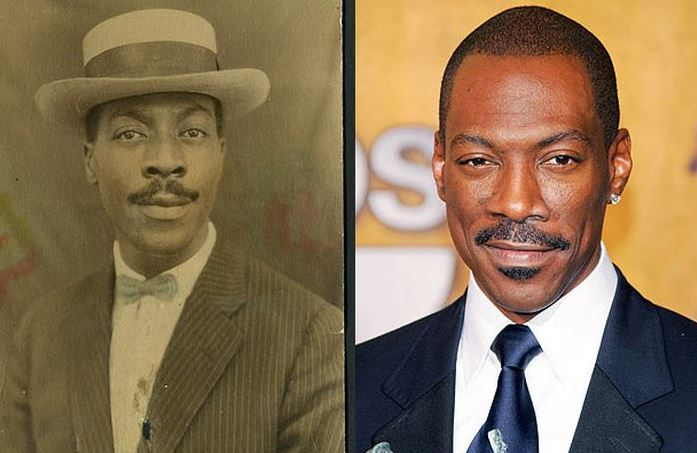 Eddie Murphy and his look-alike