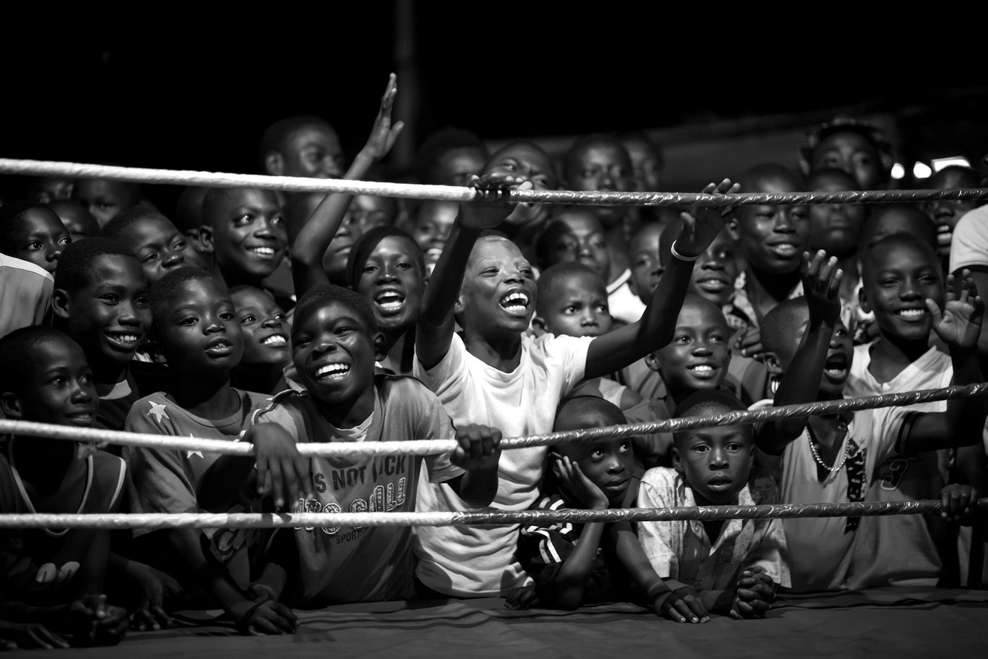 If one is thinking about countries being successful in boxing, just a few will have Ghana in mind. But Ghana produced a couple of world champions in boxing - the most famous one being Azumah Nelson. The weird fact about boxing in Ghana is all world champions are from Bukom, a small neighborhood of Accra. Bukom is a poor suburb, most people work as fishermen. But boxing here has a long tradition - it is the second nature of the people as many say. Hundreds of years ago, the Ga-People, an ethnic group who lives mainly in Accra, developed their own way of fighting. Due to the British influence during colonization, the Ga came in touch with boxing. Since then boxing is the most famous sport in Bukom. Nowadays boxing is much more than a sport, it is a way to escape poverty and everyday problems. Many kids and juveniles dream of being a professional boxer in the US or Europe. They fight for their dreams, literally.