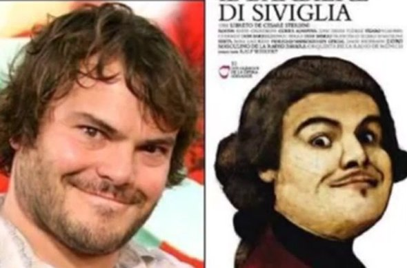 Jack Black and the Barber of Seville