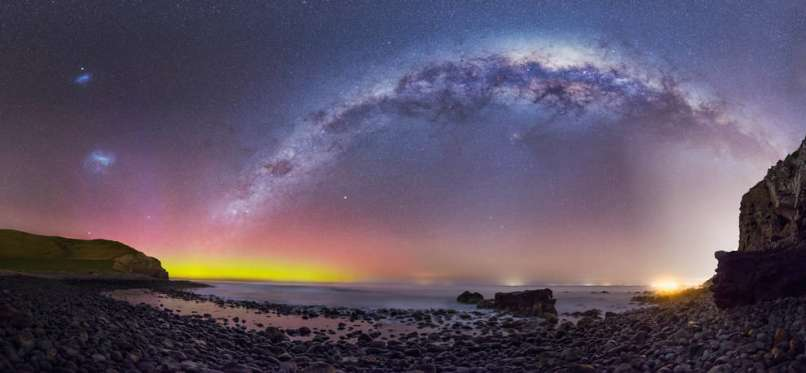 tiful panoramic images of the Milky Way galaxy.