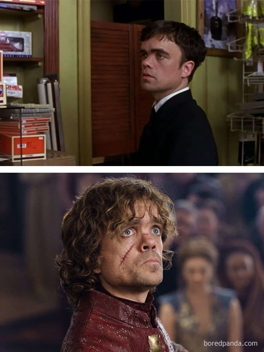 Peter Dinklage 2003 és most