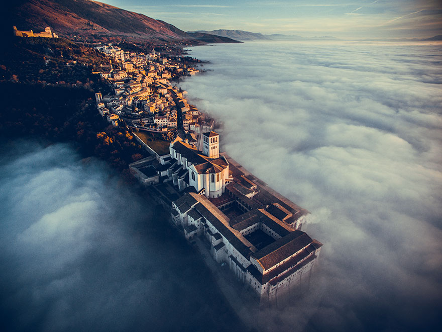 1st Prize Winner Basilica Of Saint Francis Of Assisi, Umbria, Italy