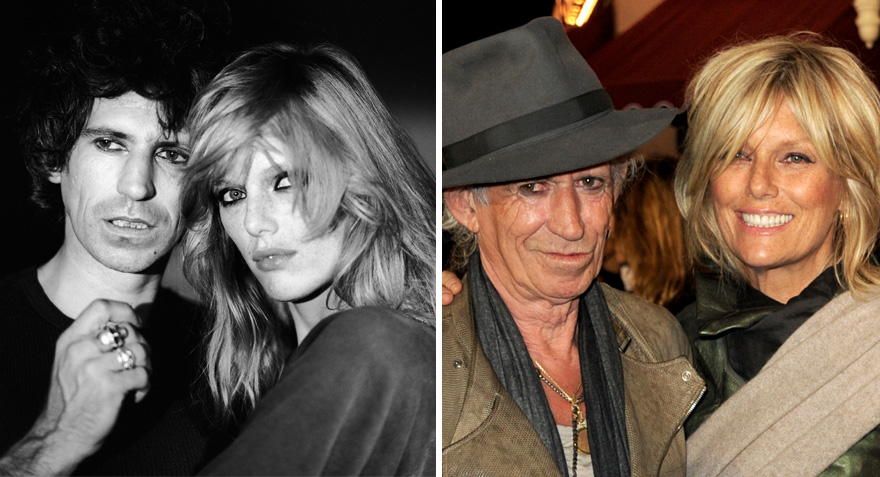 37 patti hansen keith richards