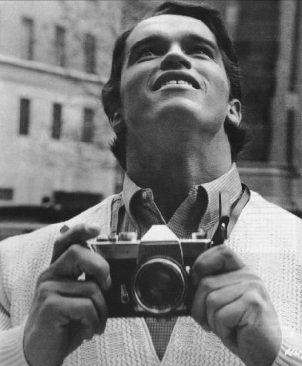 Arnold Schwarzenegger on his first time in New York 1968.