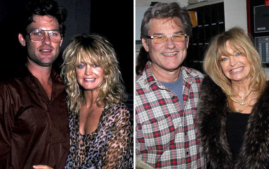Goldie Hawn And Kurt Russell – 33