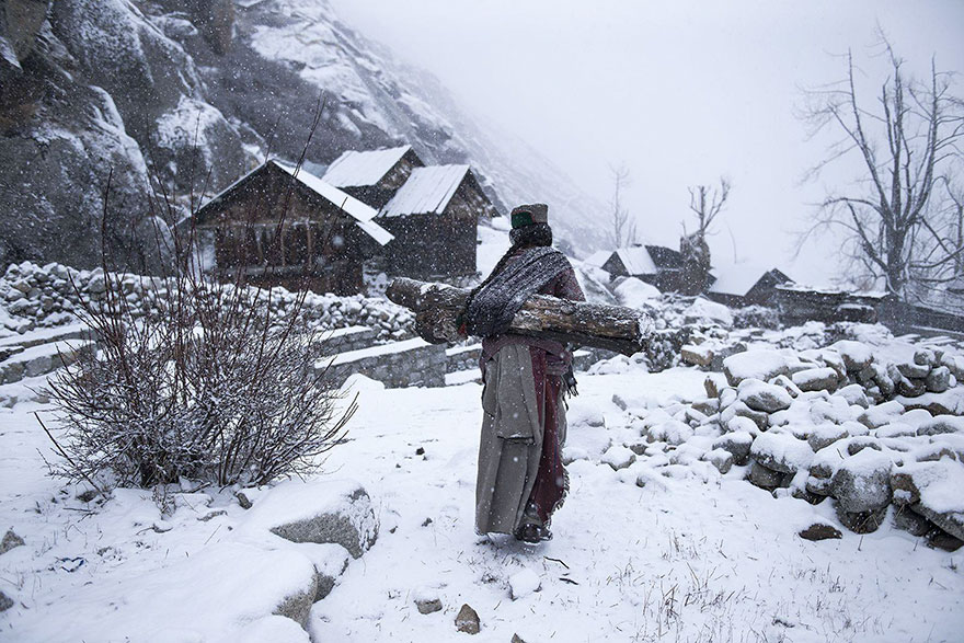 People: Remote Life At -21 Degree, Himachal Pradesh, India
