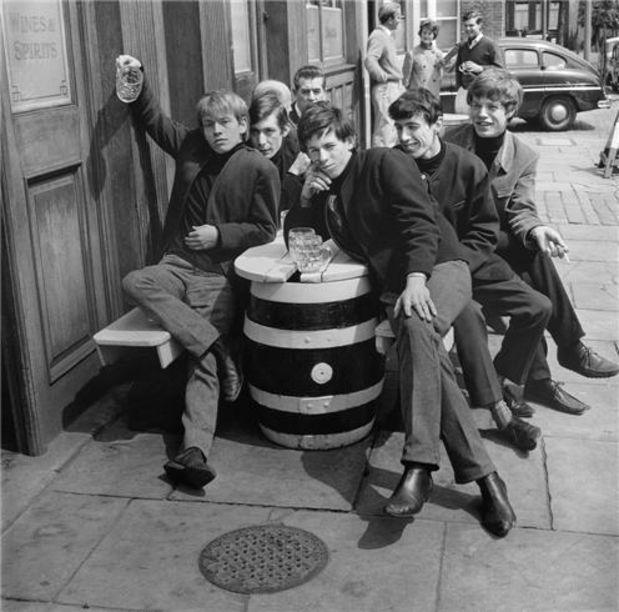 The Rolling Stones,1963.