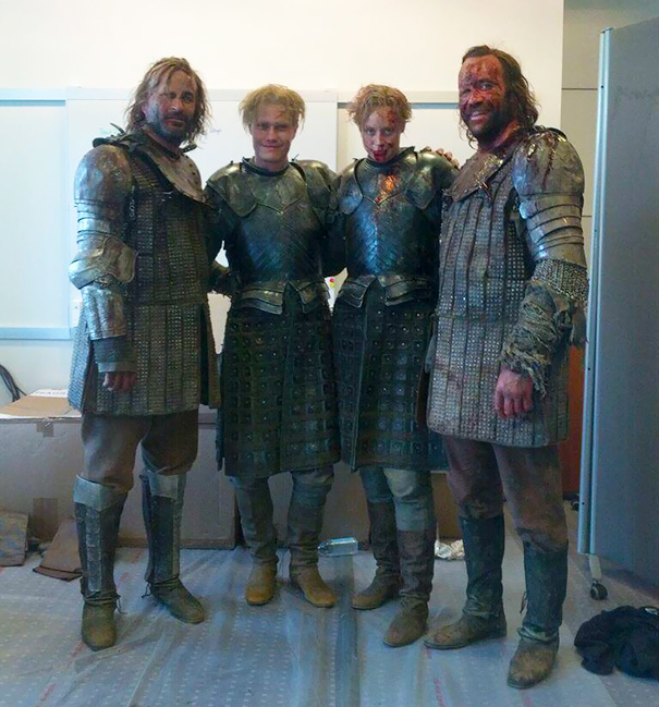 Gwendoline Christie And Rory McCann