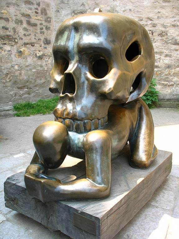 Skull (Prague, Czech Republic)