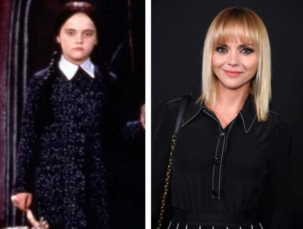 Wednesday Addams, azaz Christina Ricci
