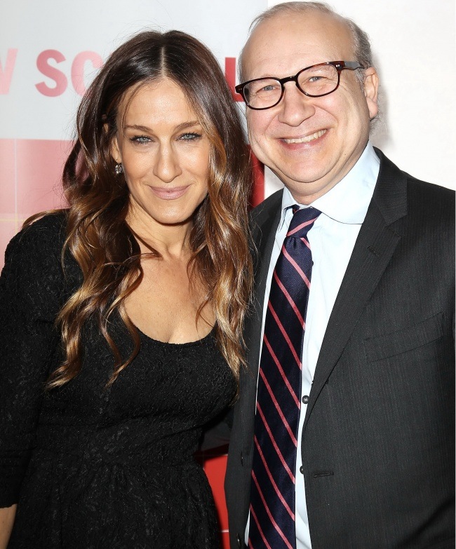 Sarah Jessica Parker with her brother Pippin