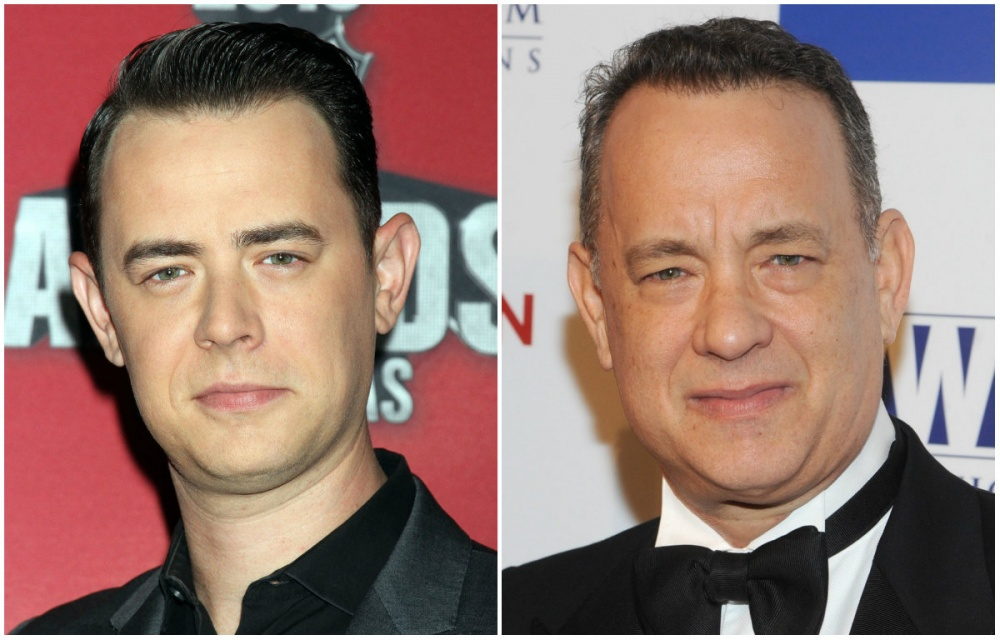 Colin és Tom Hanks