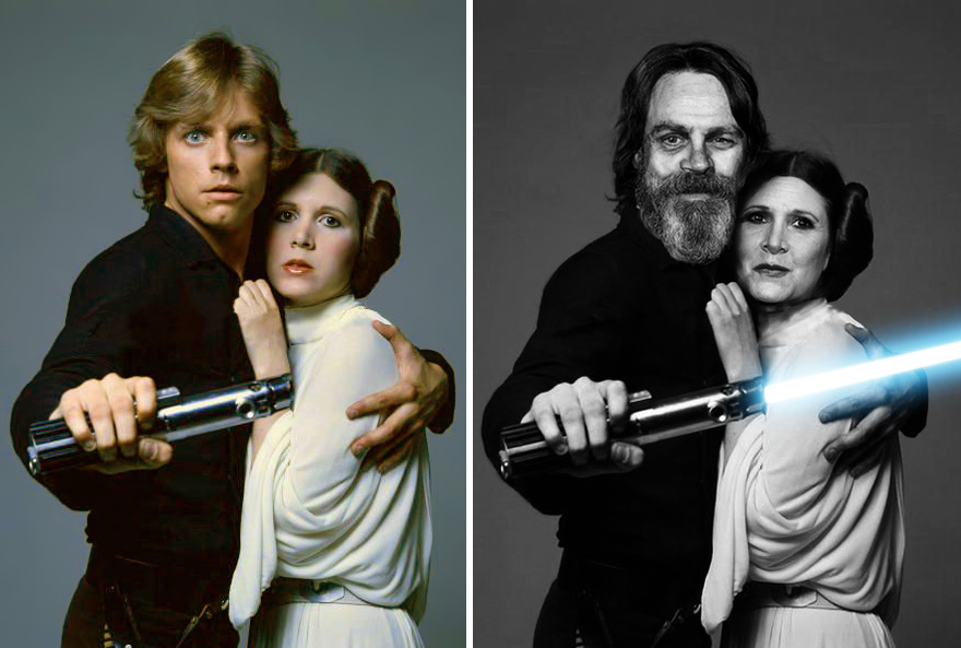 mark-hamill-es-carrie-fisher-1977-ben-es-2015-ben