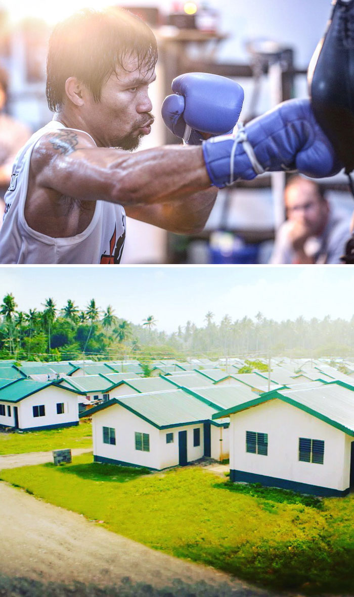 world-champion-boxer-manny-pacquiao-builds-1000-homes-for-poor-filipinos